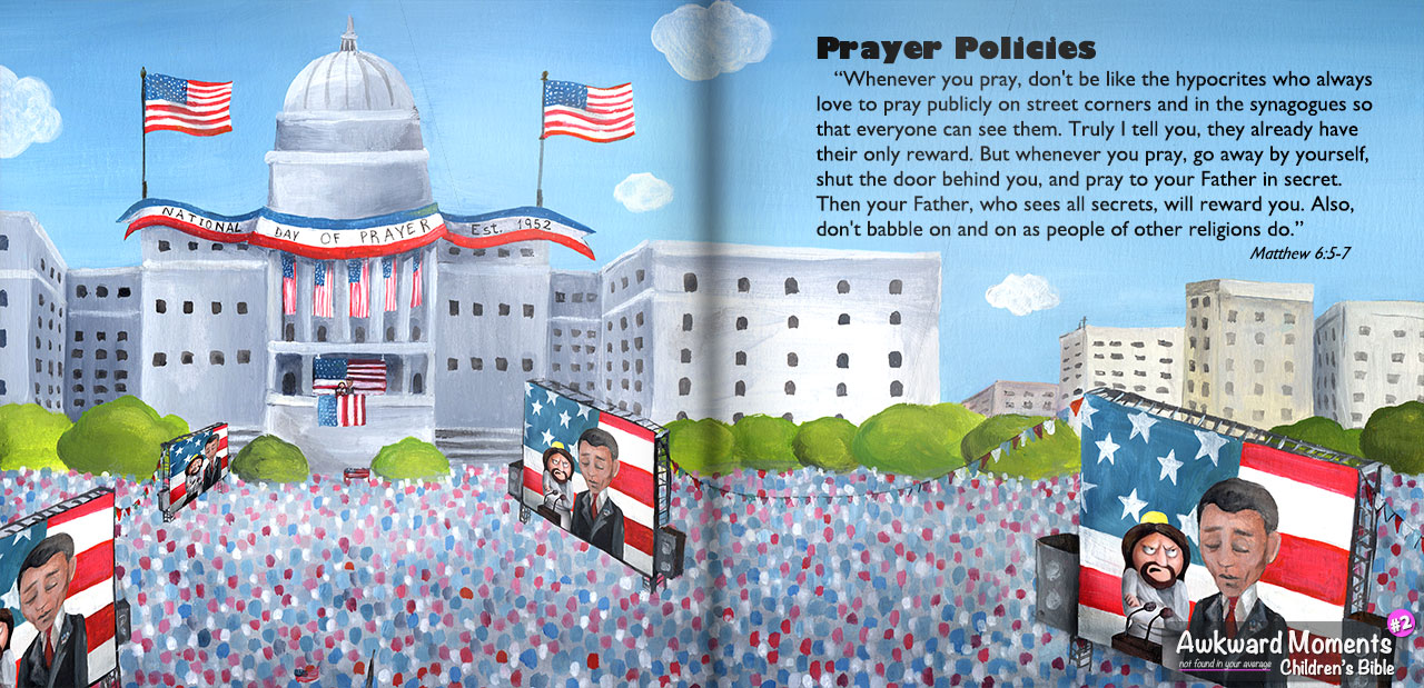What Jesus Says About Public Prayer - Awkward Bible