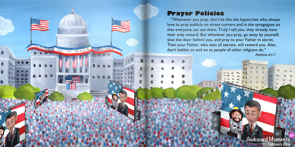 """The National Day Of Prayer (""""Not so fast,"""" says Jesus!)"""