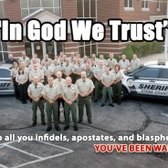 GOD COPS: New Motto Graces Police Cars