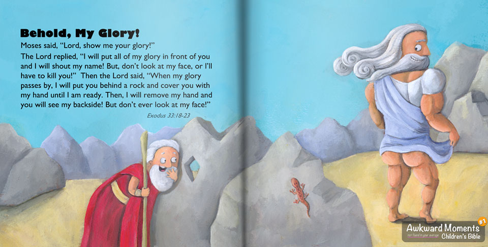 God's Glory Hole - Awkward Moments Children's Bible