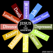 "February's Theme: ""Jesus Is The Answer"" (Living Without Jesus, Daily)"