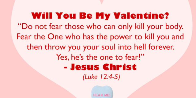 "Feb. 14: ""The Most Precious Valentine"" (Living Without Jesus, Daily)"